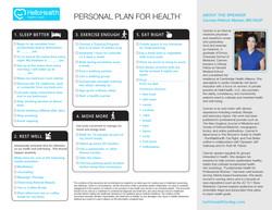 handout/checklist