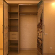 Шкаф гармошка с фотопечатью