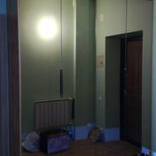 Зеркальный шкаф гармошка