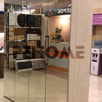 Шкаф гармошка с зеркалом