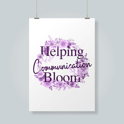 Helping Communication Bloom!