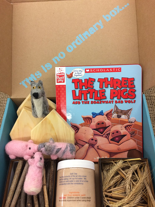 The Three Little Pigs and the Somewhat Bad Wolf Curious Collection