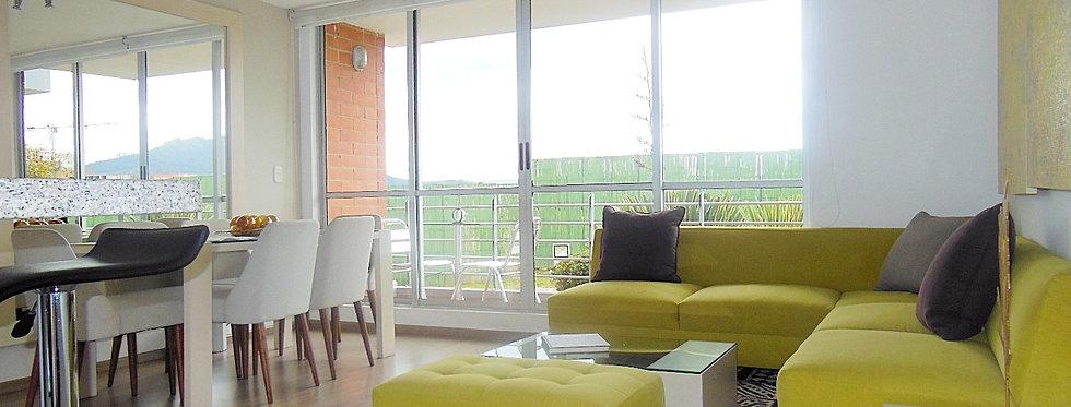 Apartamento Club House Zipaquira | 3 Alcobas 2 Baños & Estudio.