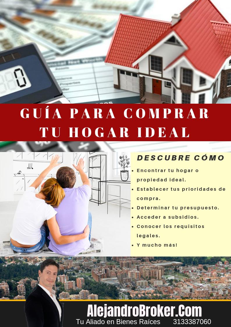 cómo comprar un inmueble o bienes raíces en colombia