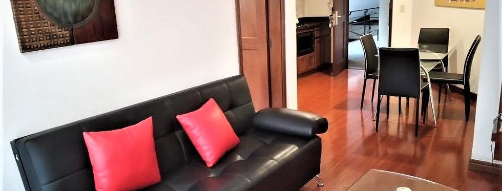 Apartaestudio en Arriendo | 1 Alcoba 1 Baño 1 Garaje | Chicó - Bogotá