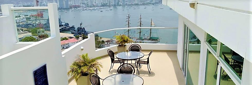 Apartamento en Venta | Bocagrande - Cartagena | 1 Alcoba, 2 Baños, Balcón.