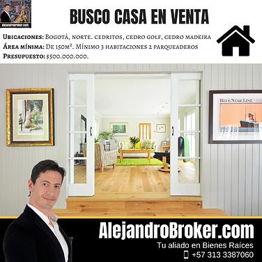 Compro casa en Venta 3 Alcobas 2 Baños Cedritos