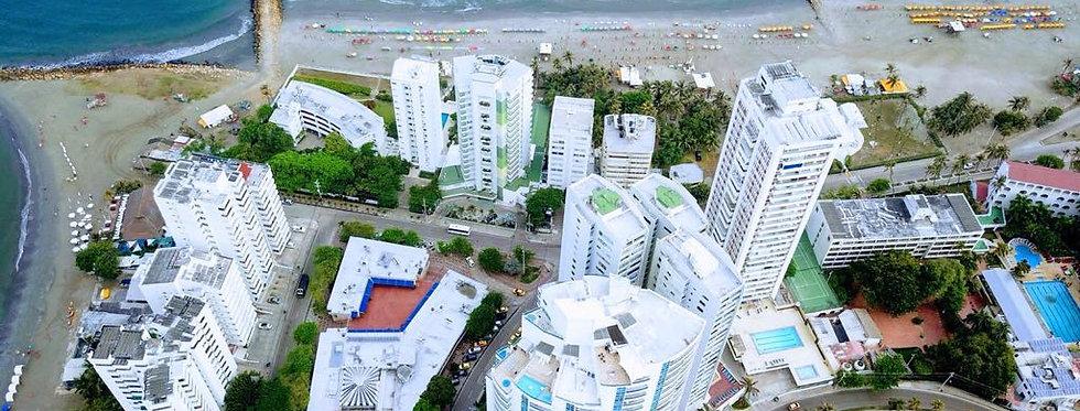 Apartamento en Venta  | 3 Habitaciones 2 Baños | El Laguito - Cartagena