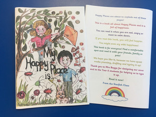 Mental Health Awareness Week- Escaping stress through writing about 'Happy Places'.