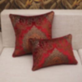 Luxury-Throw-Pillow-Cover-Red-Floral-Jacquard-Cushion-Cover-45x45cm-Sofa-cushions-Covers-Designer-Cu