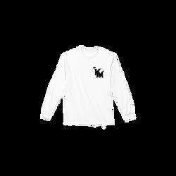 Black Logo White LS