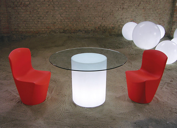 Arthur - Table lumineuse ronde 120