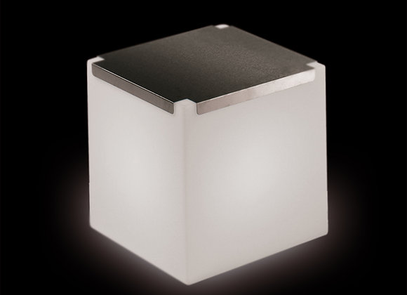 Kubo - Assise/Table basse lumineuse carrée 43