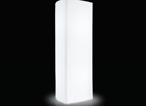 City - Présentoir lumineux triangulaire 200