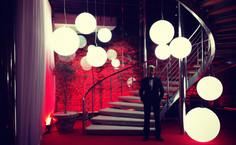 Sphéres lumineuses en location pour événement, Gamme Slide