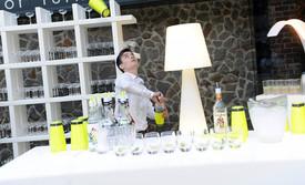 Bar lumineux à Led et luminaire, en location pour événement, Gamme Slide