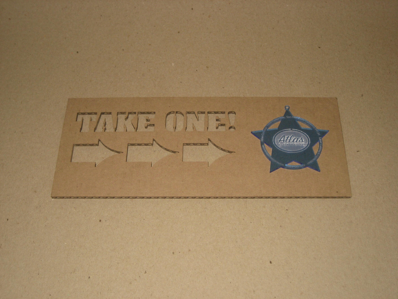 laser cut piece