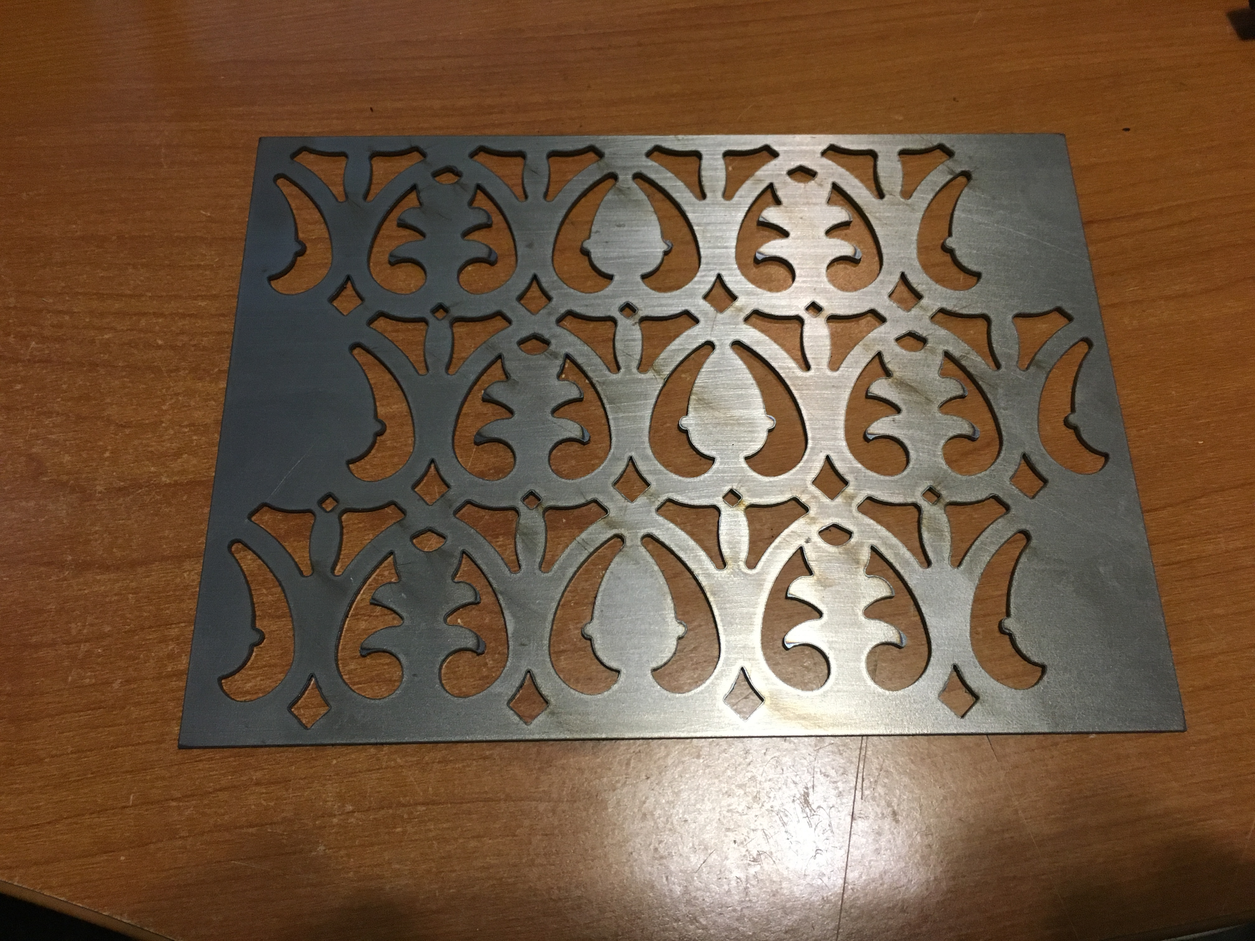 water jet cut patterns