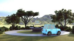 Small SUV Loop Animation