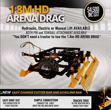 NEW 1.8M HD Arena Drag