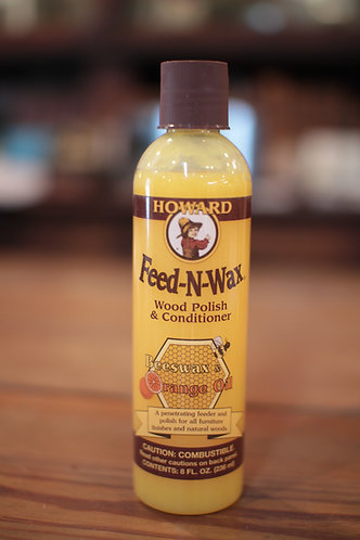 Howard Feed-N-Wax Wood Polish & Conditioner