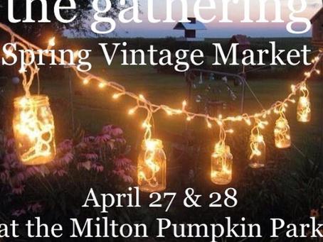 The Gathering Spring Market