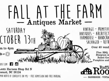 Coming up: Fall at the Farm