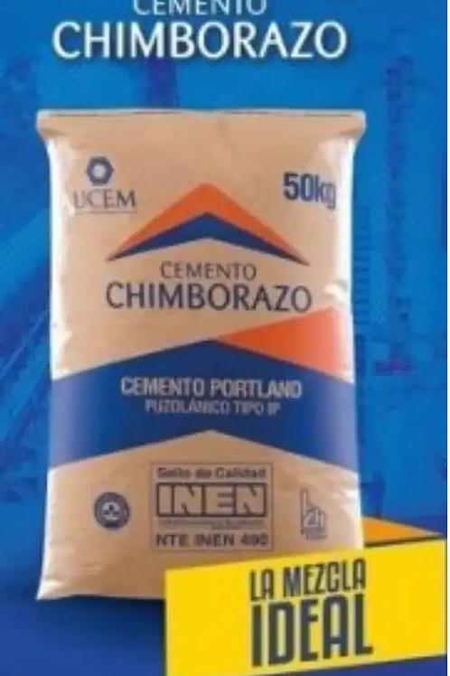 Cemento Chimborazo Tipo IP