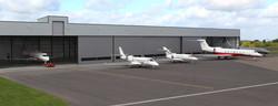 Terminal hangar