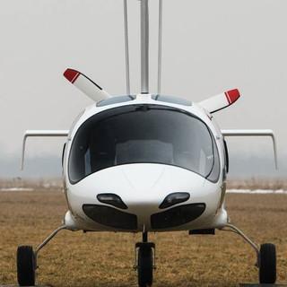 Girocoptero Frente