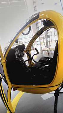 helicopter AK1‐3 interior