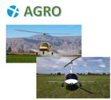 O uso cada vez mais constante de Girocópteros FlyArgo na Europa, EUA na Pulverização da Lavoura.