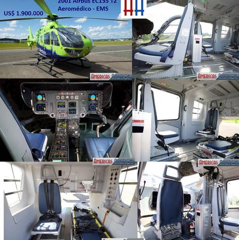airbus ec135t2 aeromedico