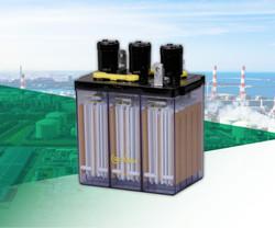CS Series, 14 Years Life Glass Tubular Flooded Lead Acid Backup Battery, Made in Japan