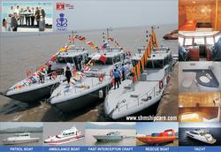 FRP boats.