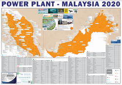 Power Plant Map Malaysia
