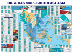 Oil and Gas Map SEA