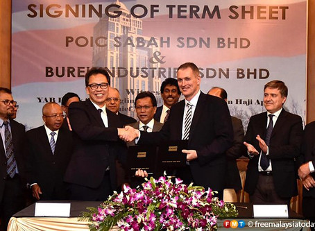 Sabah poised to be on world map with RM13 bil petrochemical plant plan