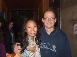 With director, John Carrafa