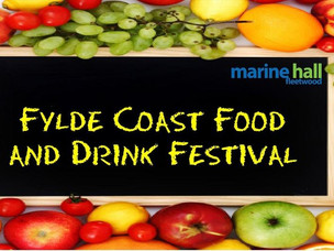 We're at the Fylde Food and Drink Festival Marine Hall Fleetwood, Sunday 18th August 2019