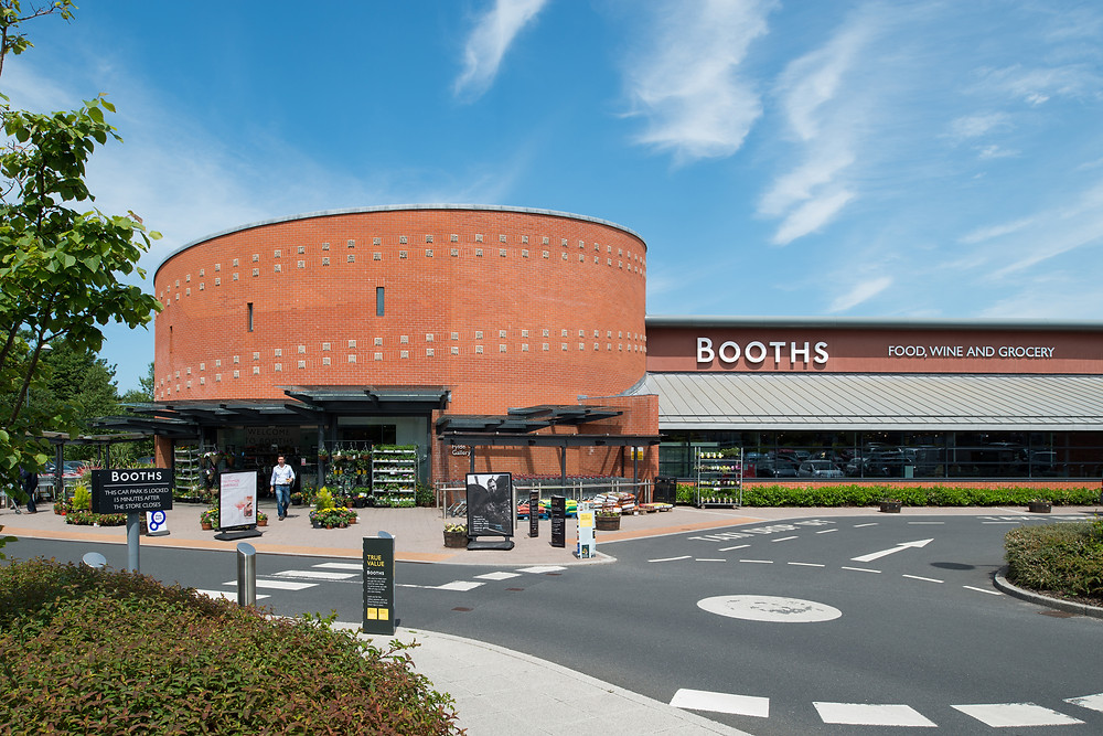 Booths supermarket exterior, Lytham