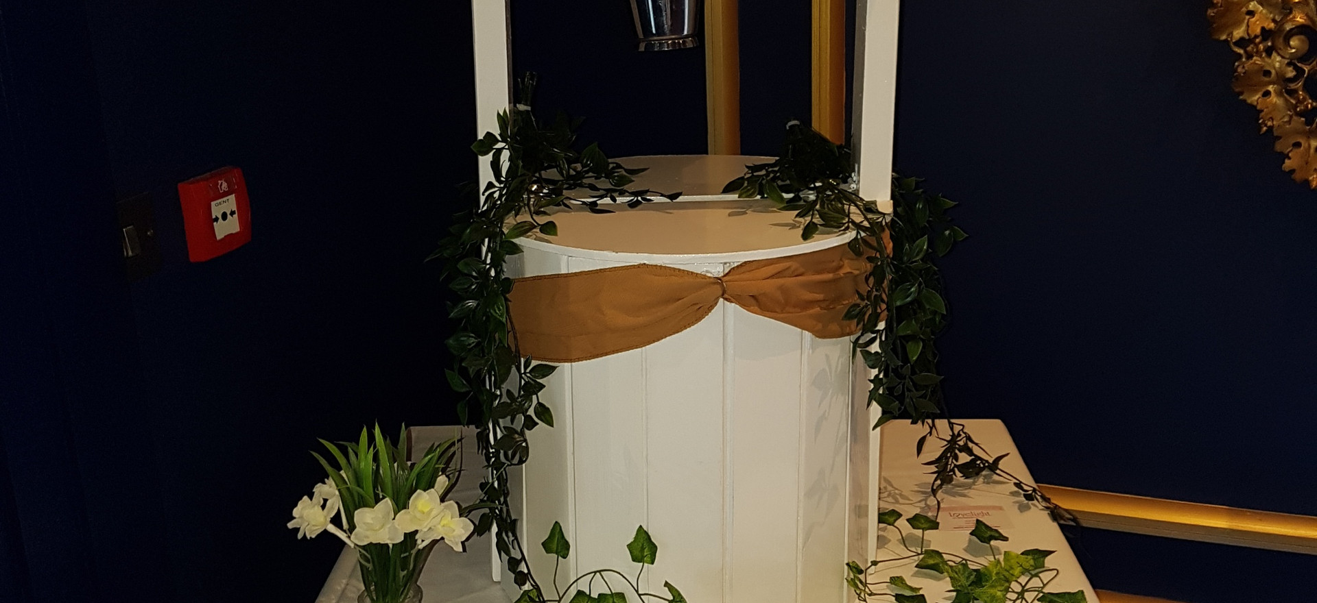 Our Wishing Well can be personalised to suit your desires!