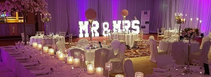 Beautiful set up at a recent wedding