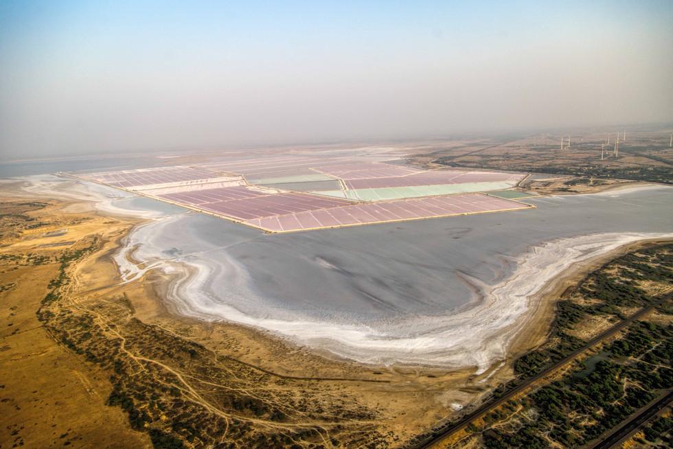 Landscape of Salt pans