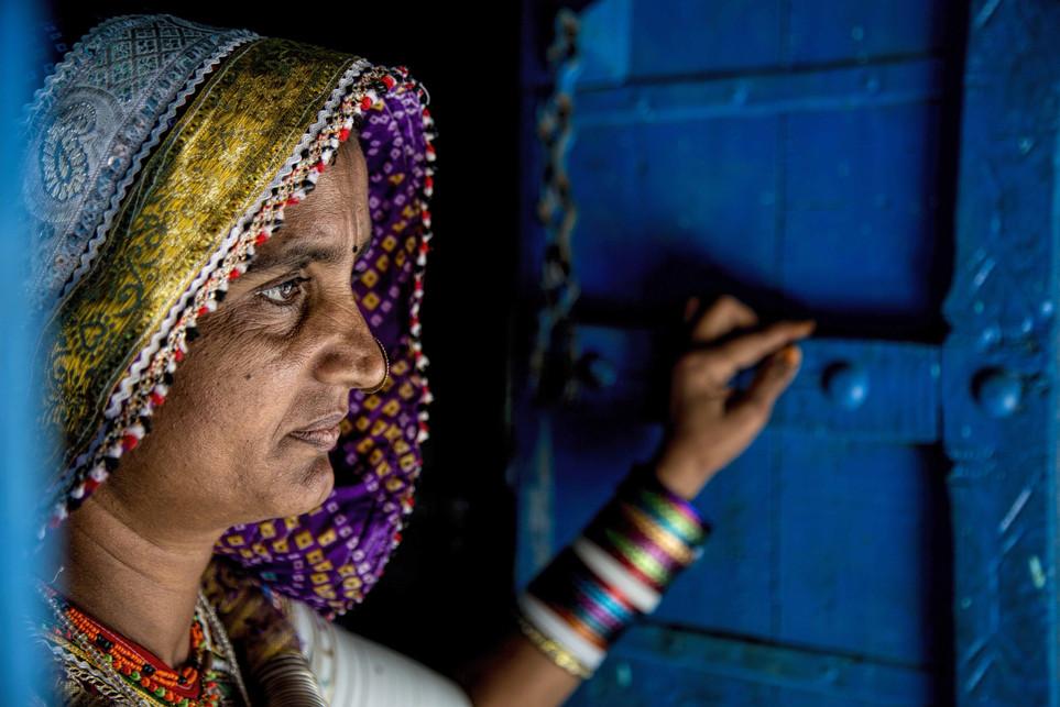 The Meghwal Woman