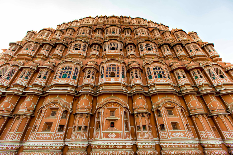 Hawamahal- ' The palace of the winds' & 953 windows