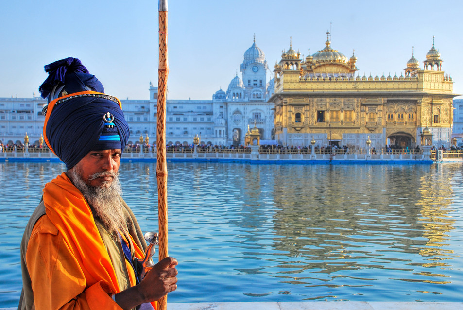 People at Golden temple