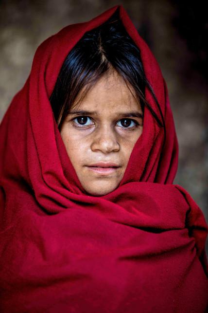 A rabari child
