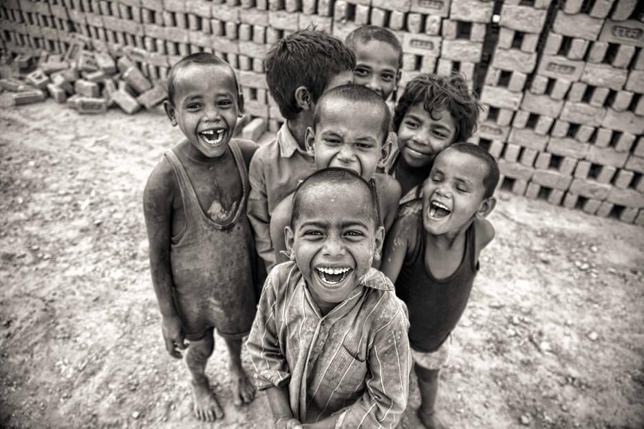 Children of the brick kiln