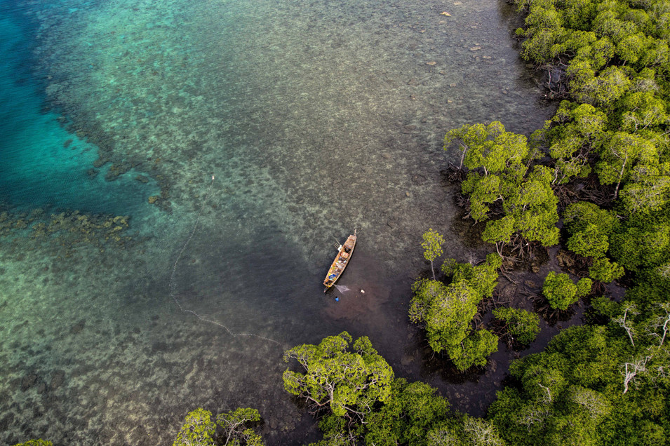 A Boat Havelock, Andamans